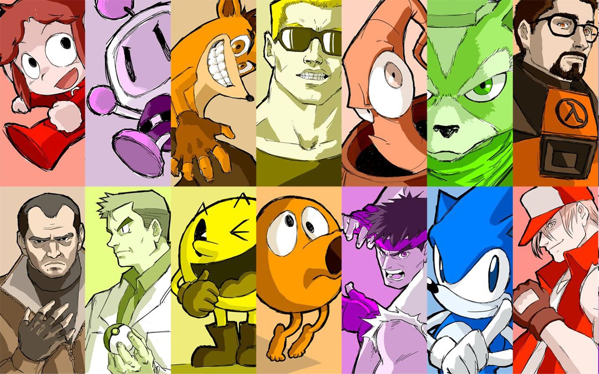 Personajes De Videojuegos Encuentra Aqui El Mejor Wallpaper De Internet